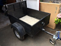 Renovated 4x3 foot trailer