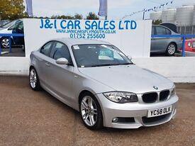 BMW 1 SERIES 2.0 120D M SPORT 2d 175 BHP (silver) 2009