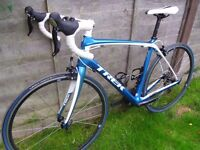 Trek Domane 4.3 carbon road racing bike £2300 with upgrades, immaculate, Ultegra 105 Specialized BMC