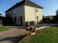 Stonebroom Derbyshire 3 bed semi with large garden and 3 acres of grazing land for sale