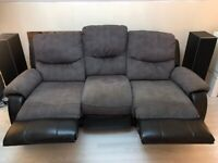 3 & 2 seater recliners