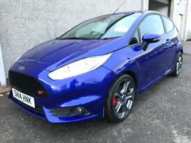 FORD FIESTA ST , 2014 *HUGE SPEC * FINANCE AVAILABLE * ONLY 32000 MILES , YEARS MOT , WARRANTY