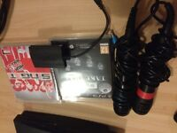 Ps3 plus singstar, microphones and games for sale