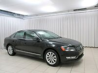 2014 Volkswagen Passat Highline!  Navigation! Leather! Sunroof!