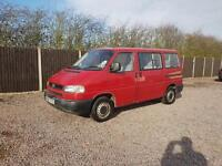 Vw transporter long nose 2.5 caravel 1997 R.reg