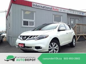2012 Nissan Murano SL | LEATHER | BACK-UP CAM | MOONROOF