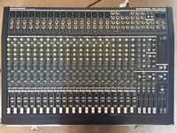 Behringer Eurodesk MX2442A mixing desk with Flight Case and Power Supply