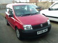 2008 08 Fiat Panda 1.1 Active 5 DOOR ** ONLY 76000 MILES ** 12 MONTH MOT **