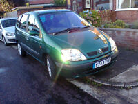 *****RENAULT MEGANE SCENIC 1.6 EXPRESSION,HAD THIS CAR FOR THE LAST 10 YEARS, FULL MOT LOW MILES
