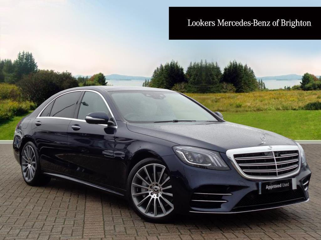 Mercedes benz s class s 350 d l amg line premium plus for Mercedes benz support number