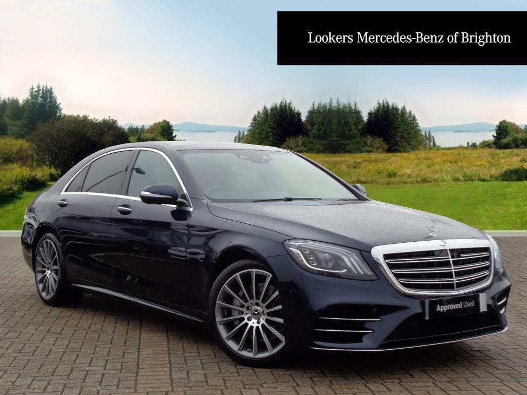 mercedes benz s class s 350 d l amg line premium plus blue 2018 01 24 in portslade east. Black Bedroom Furniture Sets. Home Design Ideas