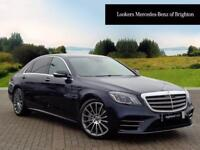 Mercedes-Benz S Class S 350 D L AMG LINE PREMIUM PLUS (blue) 2018-01-24