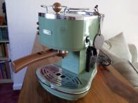 De'longhi Icona Vintage Coffee Machine Green.