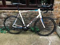Cube road bike 9 kg xl size (brand new parts )
