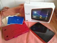 Track hudle tablet in red