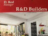 Builders Team available for more work : Demolition ,New build projects , Refurbishment