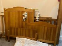 Child's Pine Cot Bed