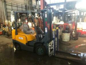 New ATF 5000lb Cushion Tire Forklift + Attachment