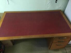 Vintage sturdy desk