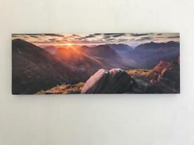 Mountain canvas