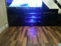 Modern TV Unit Cabinet TV Stand -LED Light