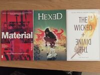 Comics For Sale (Hexed, Wicked & Divine, Material)