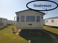 Lovely caravan for holiday let