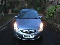2011 Vauxhall Corsa 1.3 CDTI 75 E/F Exclusive S/S **only £20 tax/year**
