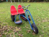 BERG 2 person On/Off Road Pedal Go Kart