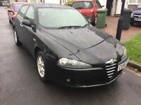 Alfa Romero 147 jtdm lusso turbo diesel 2006 facelift model 5 door hatch mot January history