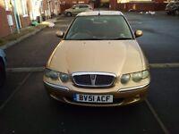 Rover 45, 1.9 diesel, New MOT