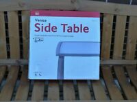 For sale, new, boxed side table