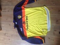 Leeds united Goalkeeper shirt, 1998-2000. Size XL