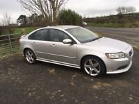 2008 Volvo S40 Sport R-Design Turbo Diesel 6 Speed, 85000 Miles Serviced, Mot Oct 18