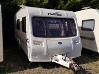 2005 Bailey Pageant Champagne 4 Berth Side Dinette End Washroom Caravan with MOTOR MOVER