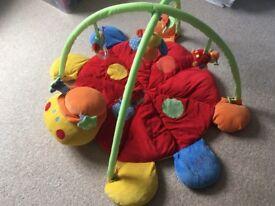 Mamas & Papas Lotty Ladybird Playmat & Gym