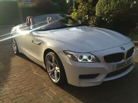 BMW Z4 SDRIVE20I M SPORT ROADSTER (white) 2013