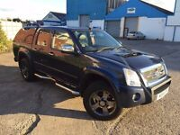 Isuzu Rodeo Denver Max LE (Automatic) double cab with hard top