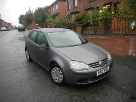 VOLKSWAGEN GOLF 2.0 SDI S 07 REG (2007) 1 OWNER 5 DOOR SERVICE HISTORY METALLIC GREY