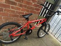 Red Raleigh BMX Bicycle