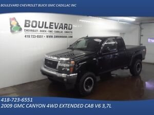 2009 GMC CANYON 4WD EXTENDED CAB SLE