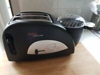 Tefal Toast and Egg Two Slice Toaster and Egg Maker Black