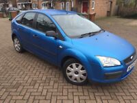 2005 FORD FOCUS 1.6 IN EXCELLENT CONDITION WITH MOT LOOKS & DRIVES GREAT