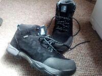 Element steel toe cap boots