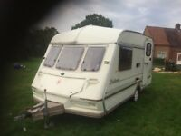 Touring caravan shell- use as - extra bedroom / Storage/Office/workroom/Den/covered