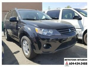 2008 Mitsubishi Outlander LS 4WD; Local BC vehicle!