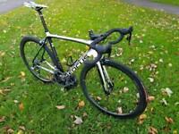 Focus Izalco Team Replica carbon road bike.