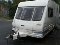 Lunar LX2000 Two Berth Touring Caravan