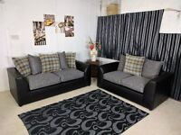 """""""EXPRESS DELIVERY"""" BRAND NEW STYLISH YET SIMPLE PARIS CORNER UNIT/3+2 ON SPECIAL OFFER"""