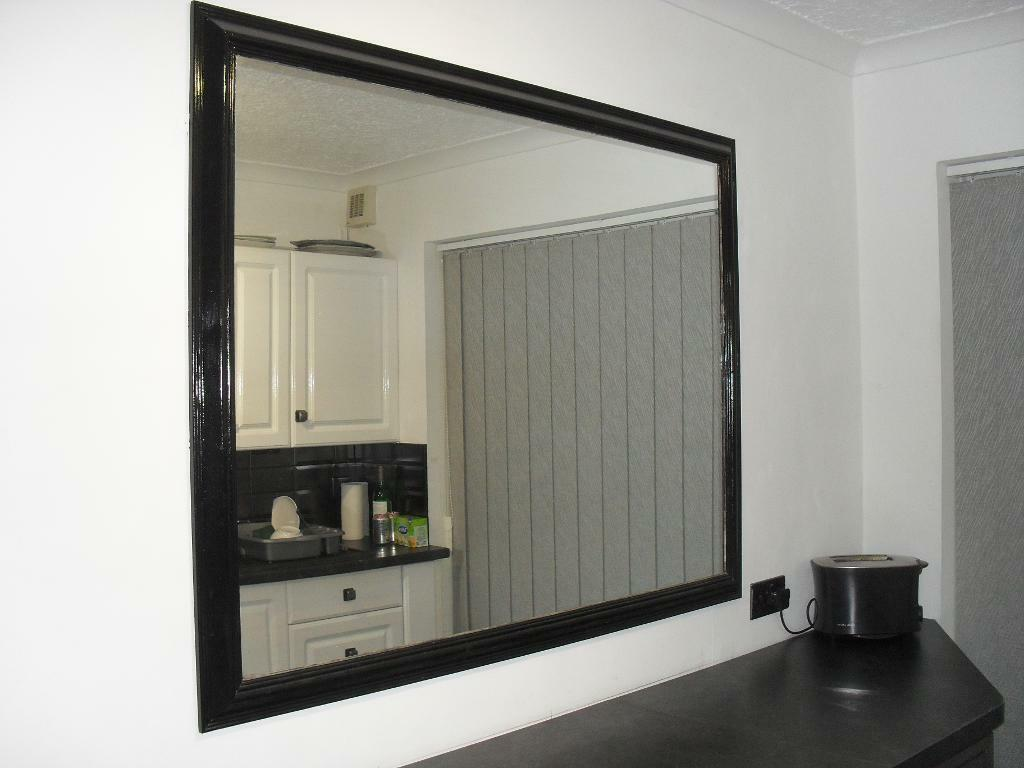 large wall mounted mirror in plymouth devon gumtree